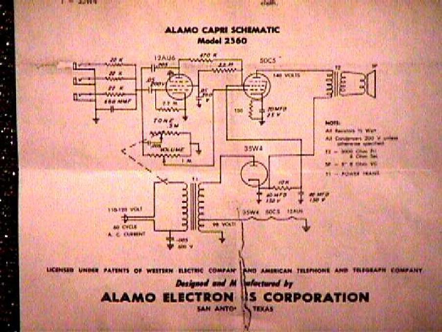 [DIAGRAM_3NM]  Alamo Capri 2360 Amplifier Schematic - [PDF Document] | Alamo Amp Schematics |  | Documents MX