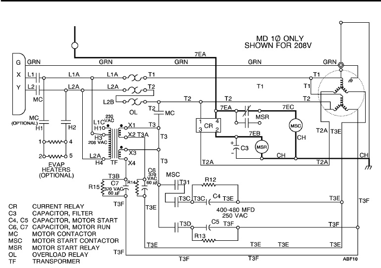 Thermo King Md 100 Et Pdf Doent, Thermo King Wiring Diagram
