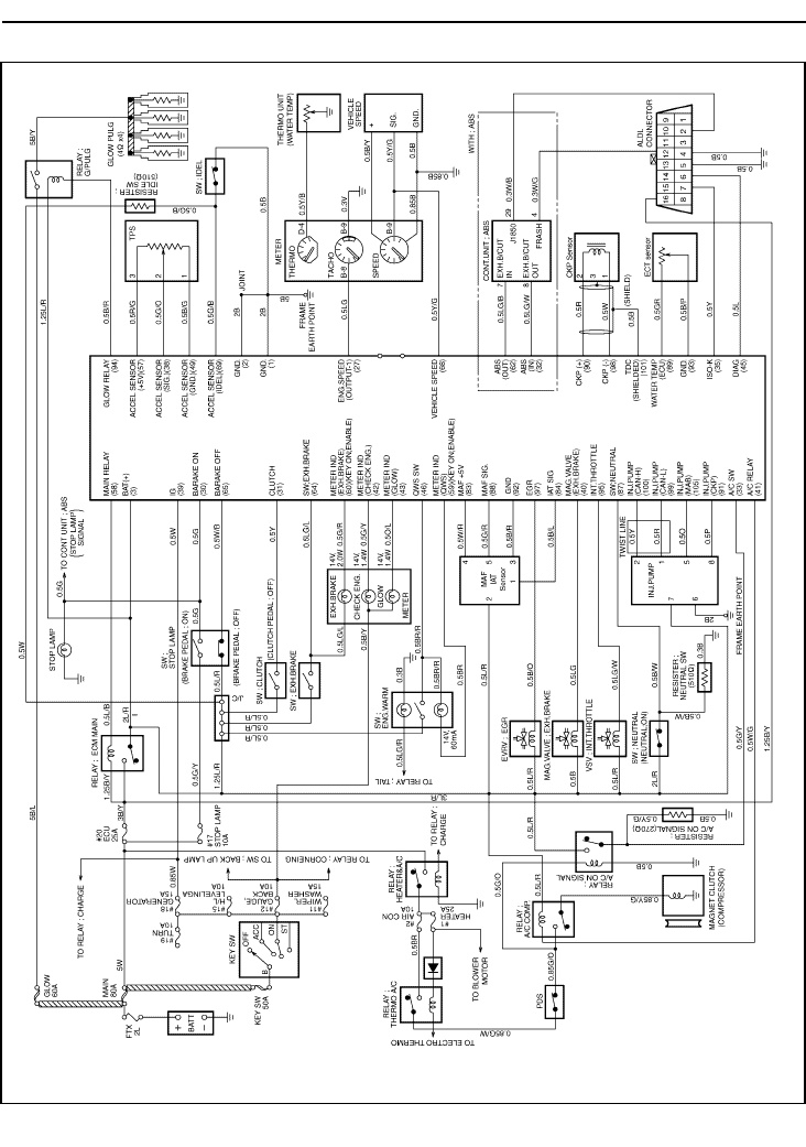 4jh1 Injector Pump Wiring Diagram